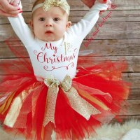 Baby Girl Christmas Clothing