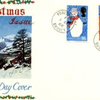 Christmas 1966 First Day Cover