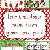 Christmas Piano Games