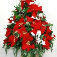 Christmas Silk Flowers