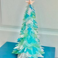 Christmas Tree Glass