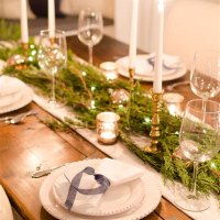 Decorating Ideas For Christmas Table