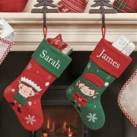 Family Stockings For Christmas