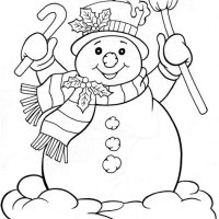 Free Printable Coloring Christmas Pages