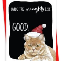 Funny Cat Christmas Cards