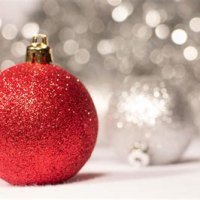 Glitter Christmas Decorations