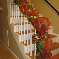 How To Decorate With Mesh Ribbon For Christmas