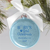 Personalized Baby First Christmas Ornament