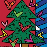 Romero Britto Christmas