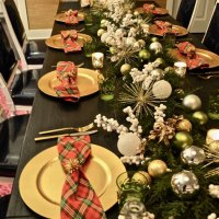 Table Decorations For Christmas Party Ideas