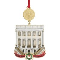 White House Christmas Ornament 2018
